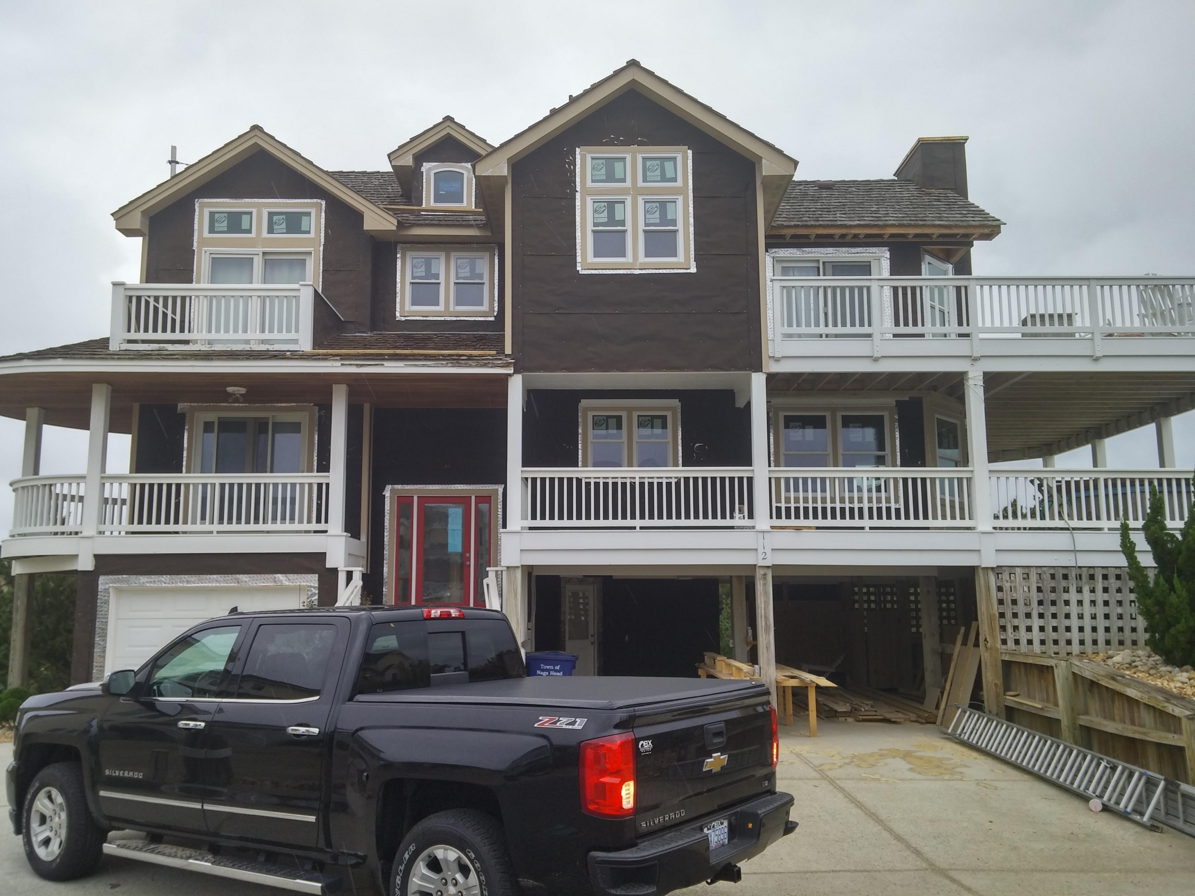 30-lb Felt House Wrap